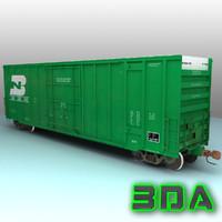 Railroad boxcar A405 BN