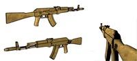 ak ak-47 47 3d model