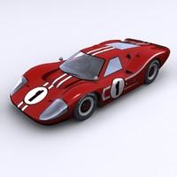 Ford GT Mk IV - 1967 Le Mans winner