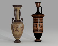 Ancient  Pottery-Amphora