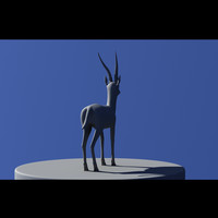 3d thompson gazelle model
