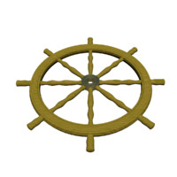 3ds max ships wheel