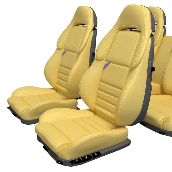 3d model car seat set - Car Seat set... by 3dexp