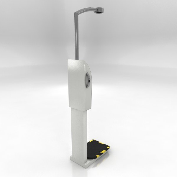 bmi weighing machine max - BMI Weighing Machine... by Captive3d