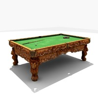 3d Billiard Table Game-Ready