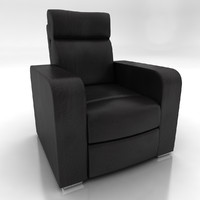3ds leather tv chair