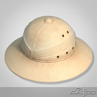 pith helmet 3d model