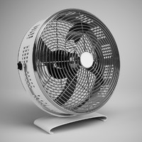 3d desk fan 04