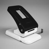 paper hole punch 26 3d model