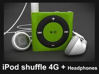 apple ipod shuffle 3d max