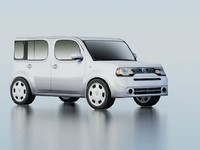 Nissan Cube Low Poly