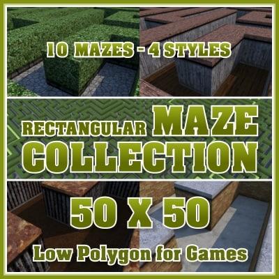 piczob_100_rectangular_maze_collection_50x50.jpg