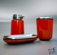 soap dispenser 3d obj