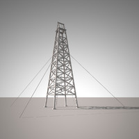 3ds max tower oil