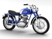 3ds max ducati 250 scrambler 1964