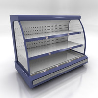 3ds max chilled shelving small