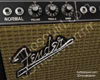 Fender Deluxe Reverb Amp Animated Knobs