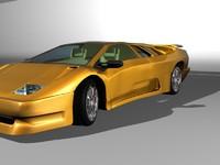 free car 3d model