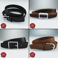 3ds max leather belts