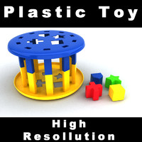 3ds max plastic toy