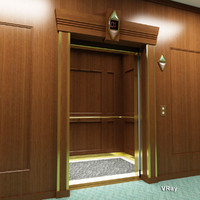 Elevator Wood Interior