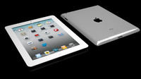 3ds max ipad 2 white