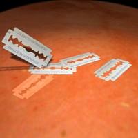 free razor blade 3d model