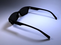 3d fossil sunglasses model