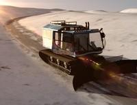 3d snowcat snow