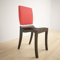 3d model modern chair ligne roset