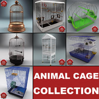 3d animal cages v2