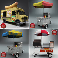 Hot Dog Carts Collection