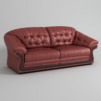 salisbury couch leather sofa 3d max
