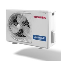 Toshiba Daiseikai air conditioner  climate control exetior condition outdoor split pump inverter cooling device