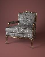 3d armchair zanaboni