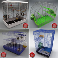 animal cages v1 3d max