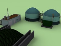 3d biogas plant