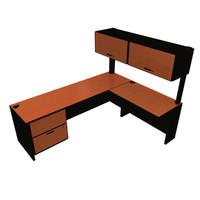 3ds hutch desk