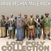 Arab Afghan Male PACK