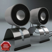 3d model usb pc acoustic
