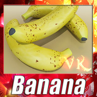 banana resolution 3d model