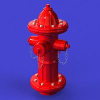 hydrant obj