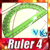 3ds max ruler 04 protractor