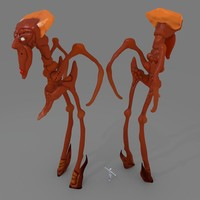 3d character judge ii model