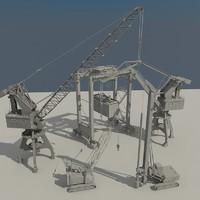 cranes port rtg 3ds