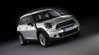 mini cooper countryman 3d obj