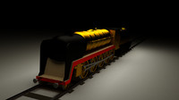 br standard class tracks 3d obj