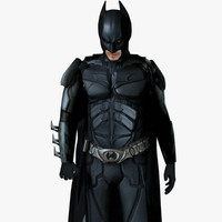 batman dark knight rises 3d model