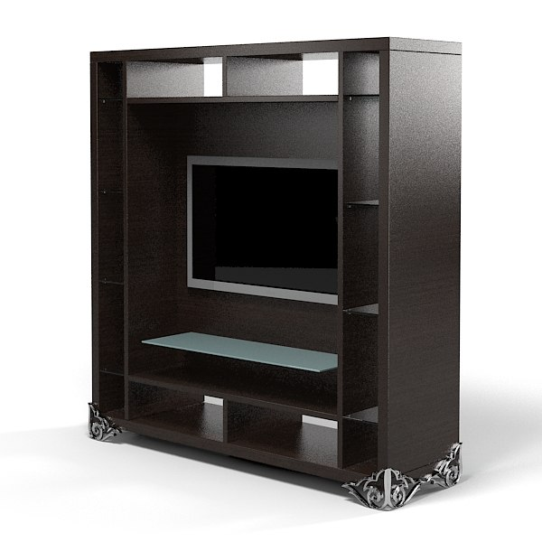 etagere 3d models. Black Bedroom Furniture Sets. Home Design Ideas