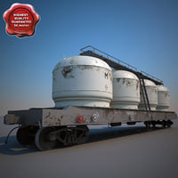 3ds max hopper wagon 17-4020